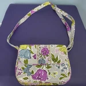 Vera Bradley Gray Flower Purse